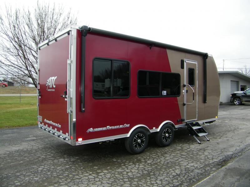 2020 ATC 20ft Aluminum Toy Hauler Camper Toy Hauler RV