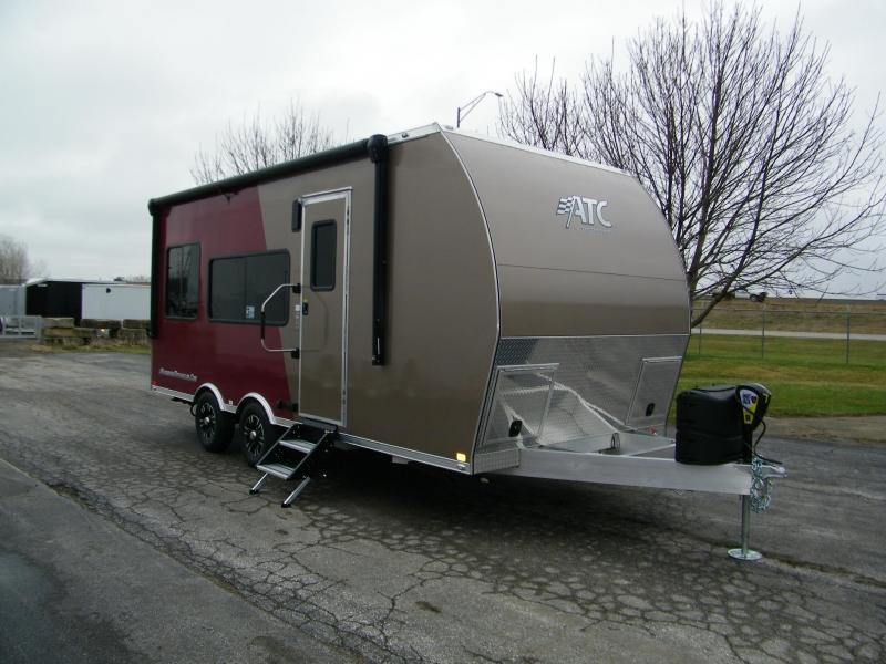 2020 ATC 20ft Aluminum Toy Hauler Camper Toy Hauler RV