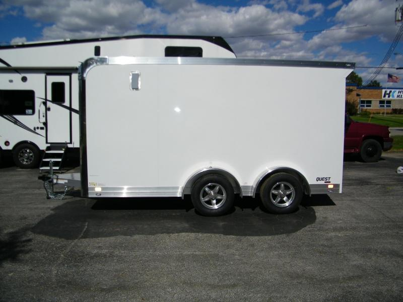 2021 ATC Quest 7.5x14 MC300 Motorcycle Trailer