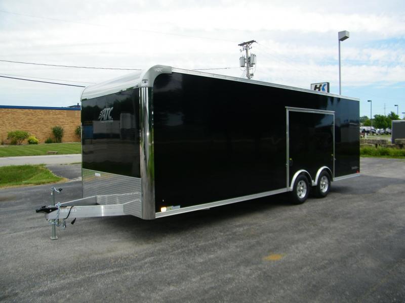 2021 ATC Raven 8.5x24 Aluminum Enclosed Car / Racing Trailer