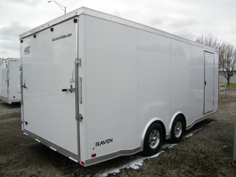 2021 ATC Raven 8.5x20 Aluminum Enclosed Car / Racing Trailer