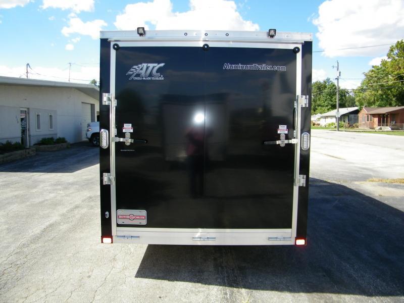 2021 ATC Raven 7x18+6 Aluminum Snowmobile Trailer