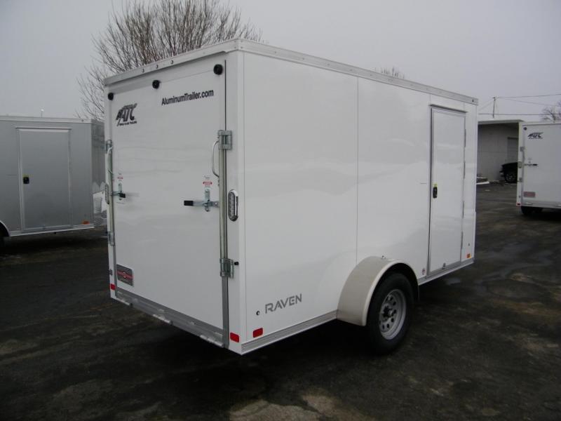 2021 ATC Raven 6x12 Aluminum V-Nose Enclosed Cargo Trailer