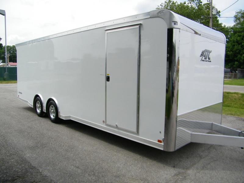 2021 ATC Raven 8.5x24 Aluminum Car Hauler Car / Racing Trailer