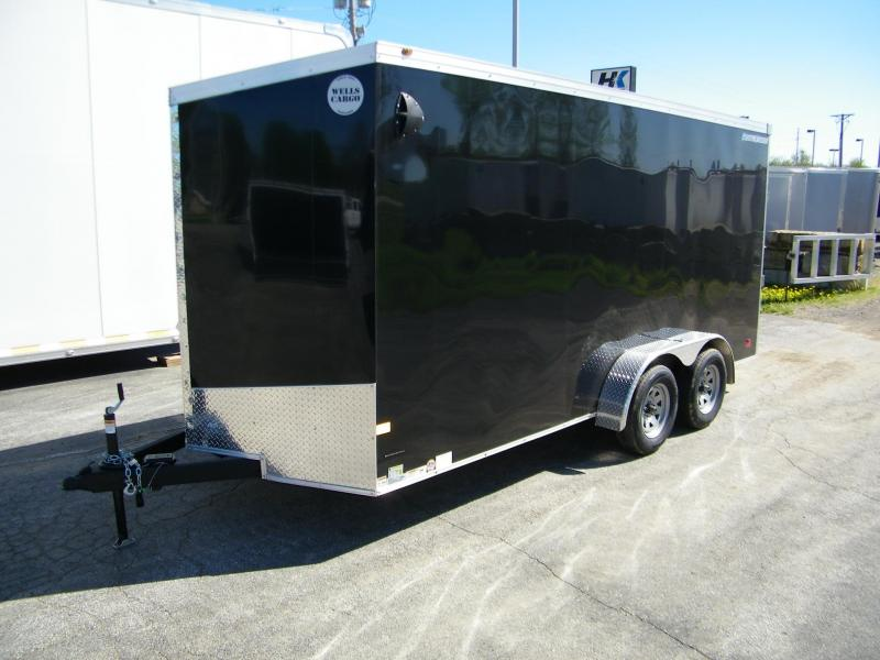 2020 Wells Cargo Road Force V-Nose Enclosed Cargo Trailer