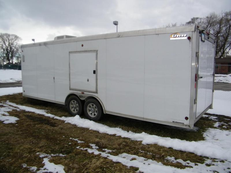 2012 Legend Trailers Trailmaster 8.5x24+6 Aluminum Snowmobile Trailer