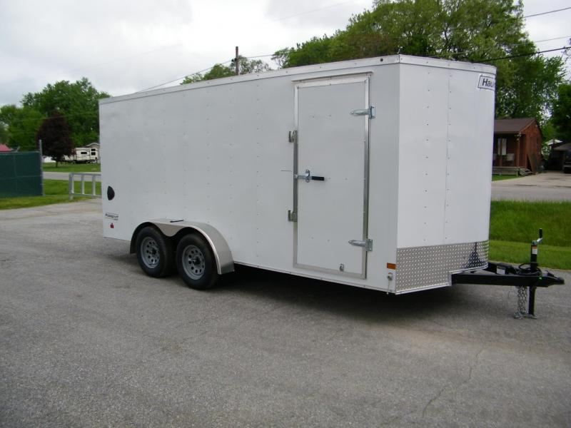 2020 Haulmark Passport 7x16 V-Nose Enclosed Cargo Trailer