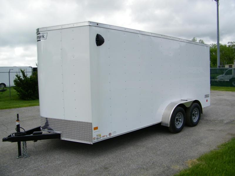 2020 Haulmark Passport 7x16 V-Nose Enclosed Cargo Trailer