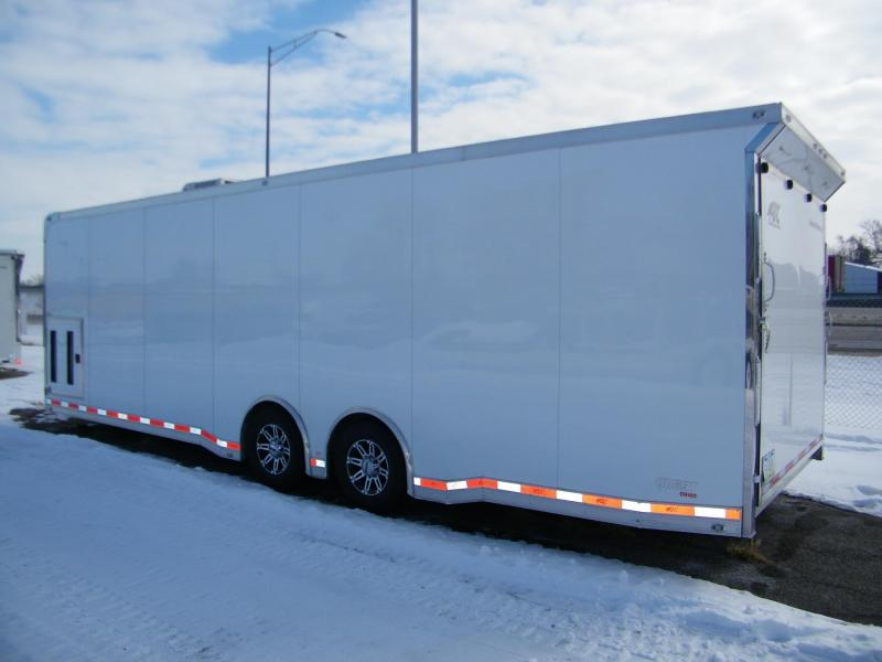 2018 ATC Quest 8.5x28 Aluminum Car / Racing Trailer