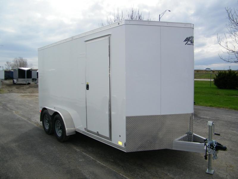 2020 ATC Raven 7x14 Aluminum Enclosed Enclosed Cargo Trailer