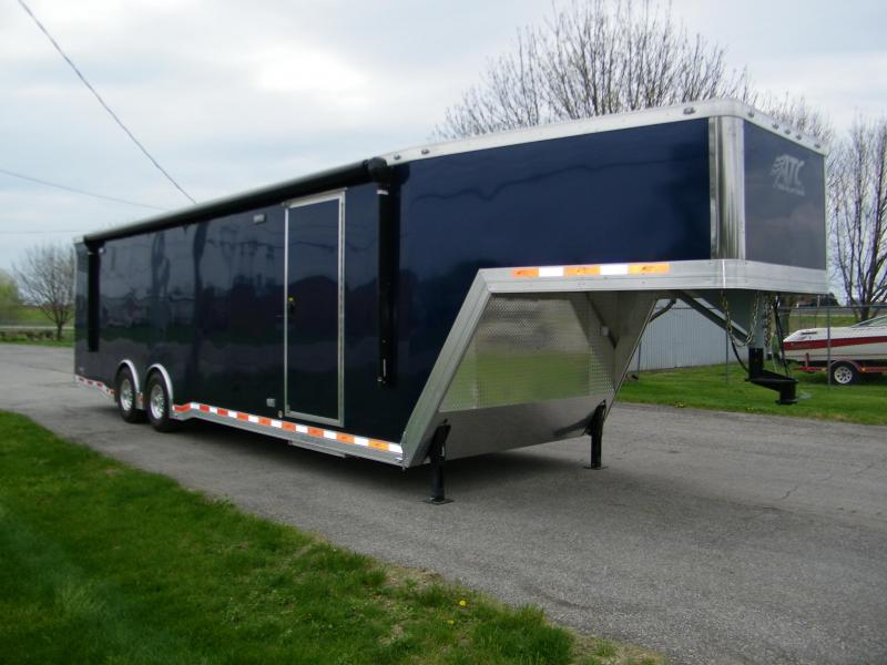 2017 ATC Quest 8.5x36 Gooseneck 405 PKG Car / Racing Trailer