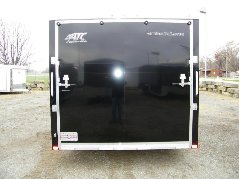 2021 ATC Raven 8.5x24 Aluminum Enclosed Car / Racing Trailer