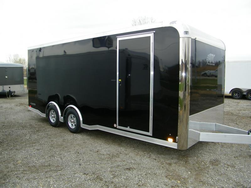 2021 ATC Raven 8.5x20 Aluminum Enclosed Car / Racing Trailer