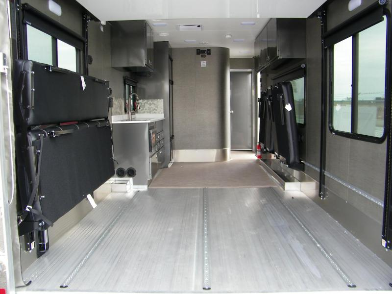 2020 ATC ATC (Aluminum Trailer Co) 28ft Front Bedroom Aluminum Toy Hauler Toy Hauler RV