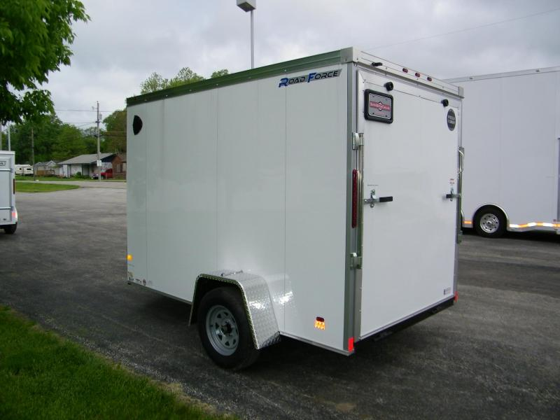2020 Wells Cargo Road Force V-Nose 6x10 Enclosed Cargo Trailer