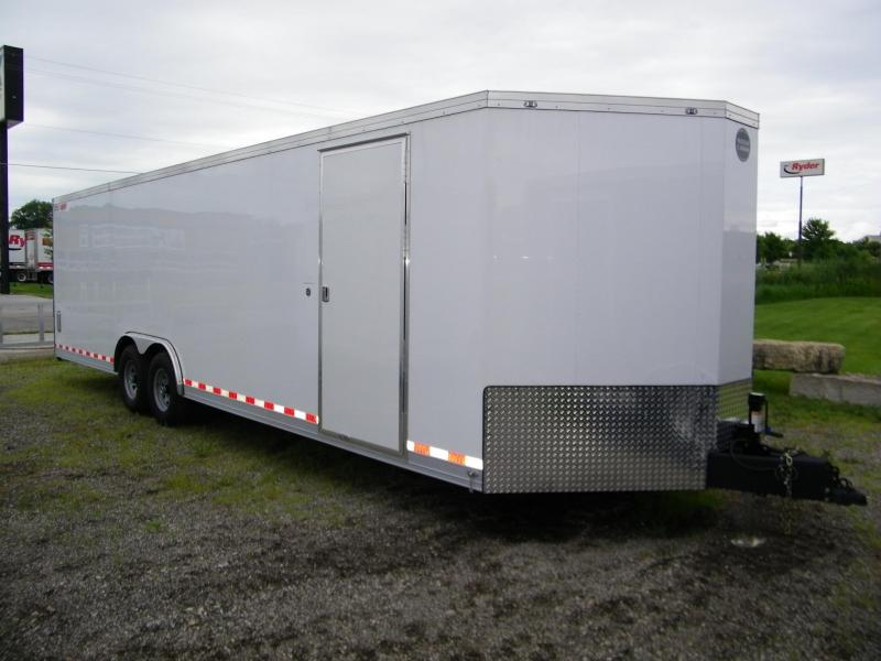 2020 Wells Cargo Wagon HD 8.5x28 V-Nose Car / Racing Trailer