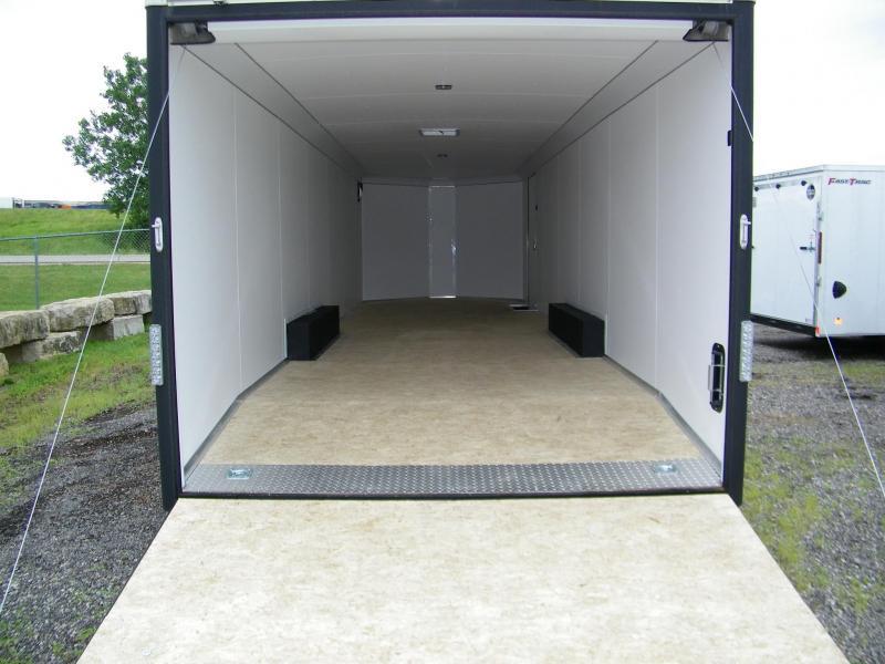 2020 Wells Cargo Wagon HD 8.5x28 V-Nose Car / Racing Trailer