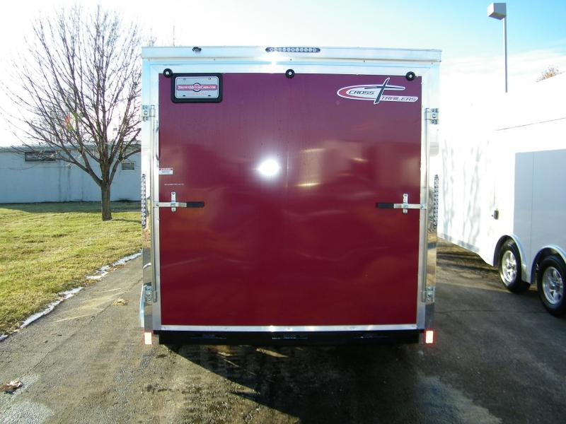 2020 Cross Trailers Alpha 7 x 14 TA Enclosed Cargo Trailer