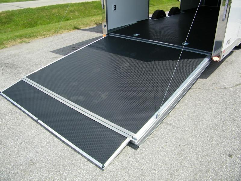 2021 ATC Quest 8.5x24 Aluminum Enclosed Car / Racing Trailer