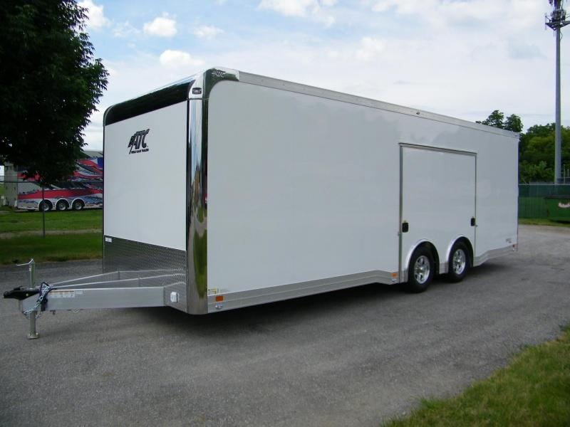 2021 ATC Quest 8.5x24 Aluminum Enclosed Car / Racing Trailer