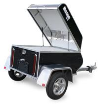 2015 Mission MMT 3X4 - All Purpose Aluminum Trailer Motorcycle Trailer