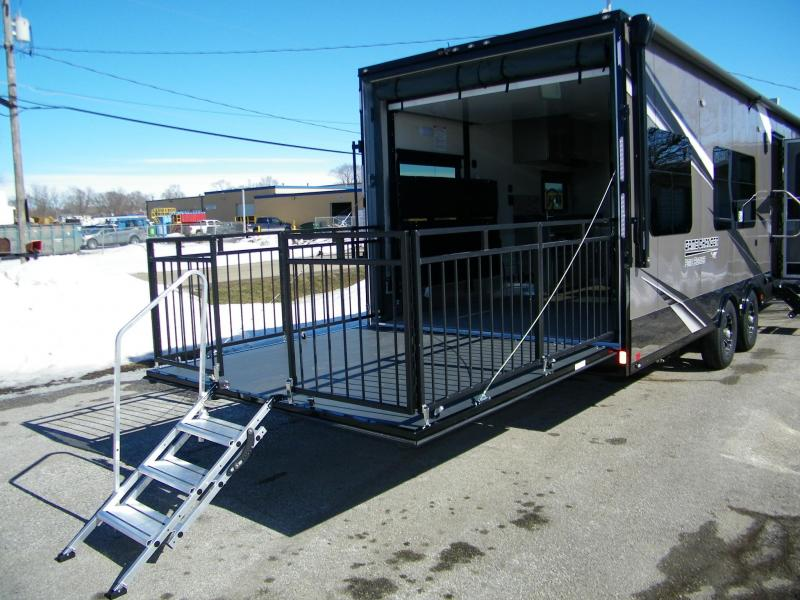 2021 ATC 8.5x28 Game Changer Pro Front Bedroom Toy Hauler RV
