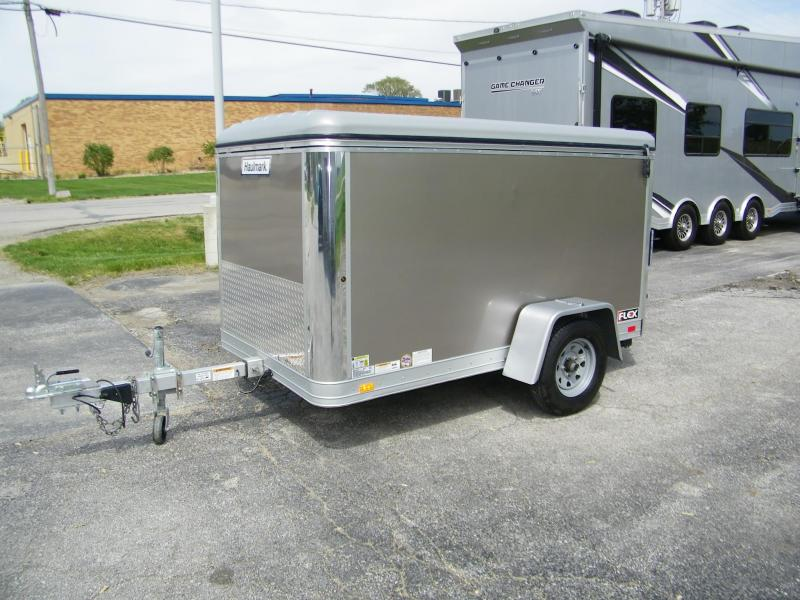 2016 Haulmark Flex 5x8 Aluminum Enclosed Trailer Enclosed Cargo Trailer