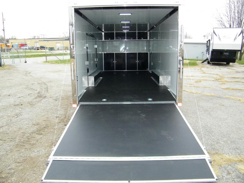 2021 ATC Quest 8.5x24 Aluminum Car / Racing Trailer