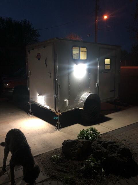 2020 Patriot 6x10x6 Cargo / Camper Conversion