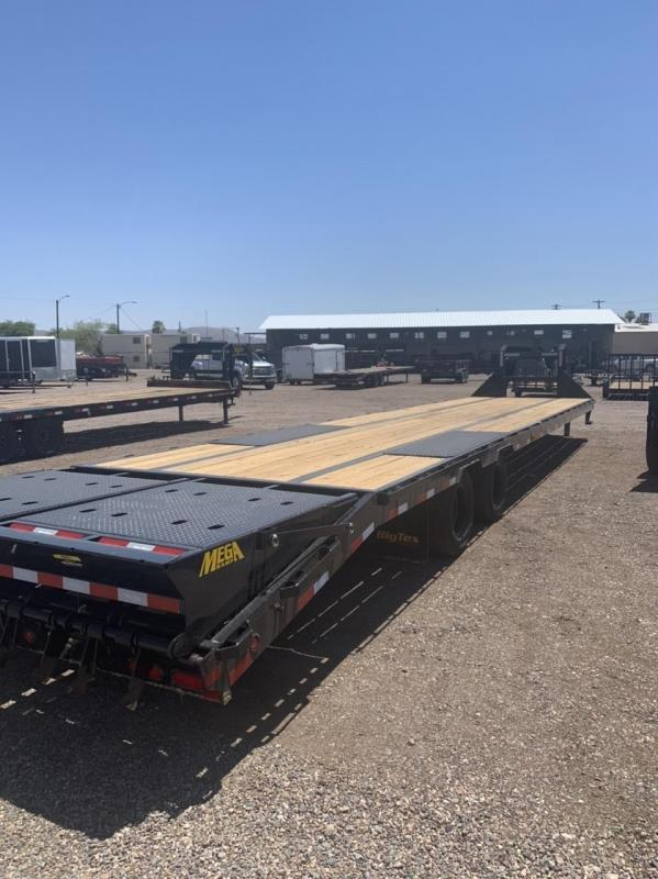 2021 BIG TEX 25GN HD GOOSENECK 35' PLUS 5' WITH MONSTER RAMPS