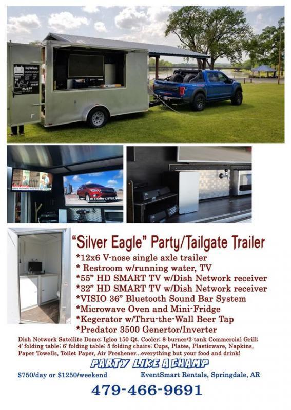 2019 Spartan Cargo 6 x 12 Single Axle Enclosed/Tailgate/Party Trailer
