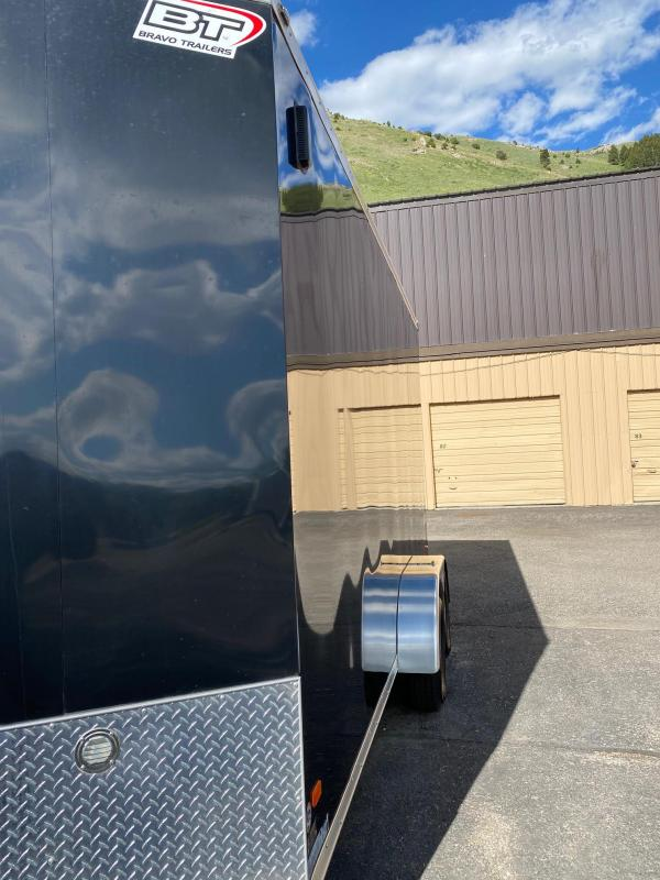 2018 Black Star 716TA2 Enclosed Cargo Trailer