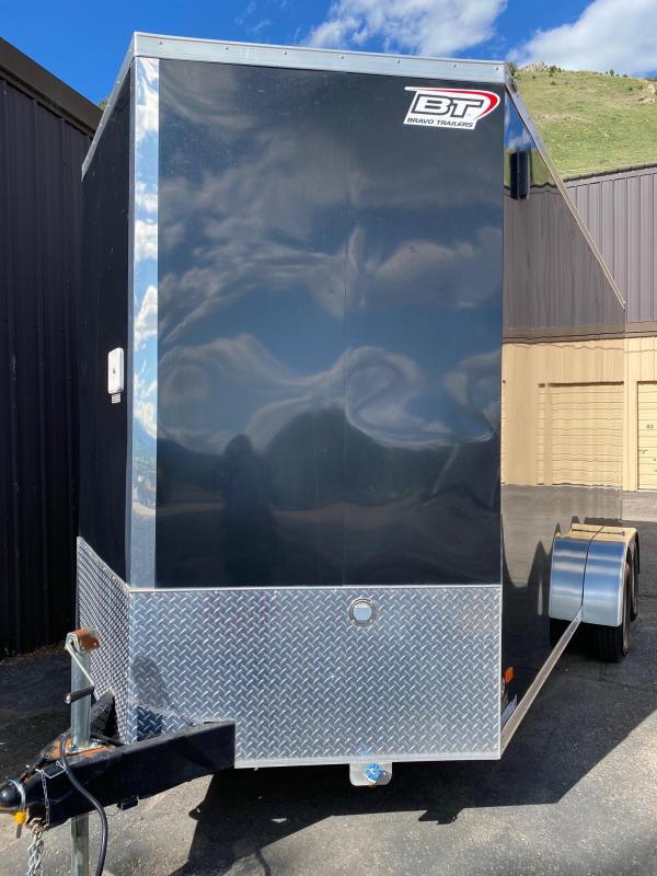 2018 Black Star 716TA2 Enclosed Cargo Trailer