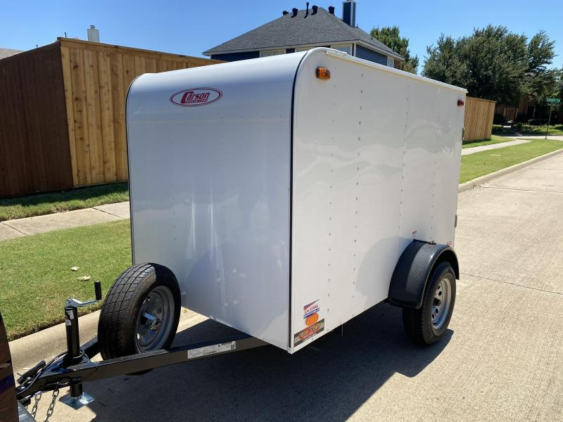 2019 Carson 5 x 8 Enclosed Cargo Trailer