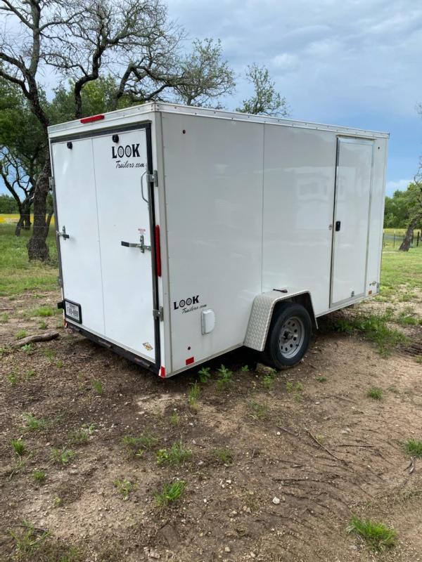 2017 LOOK 6 x 14 Single Axle Enclosed Cargo / Motorcycle Trailer