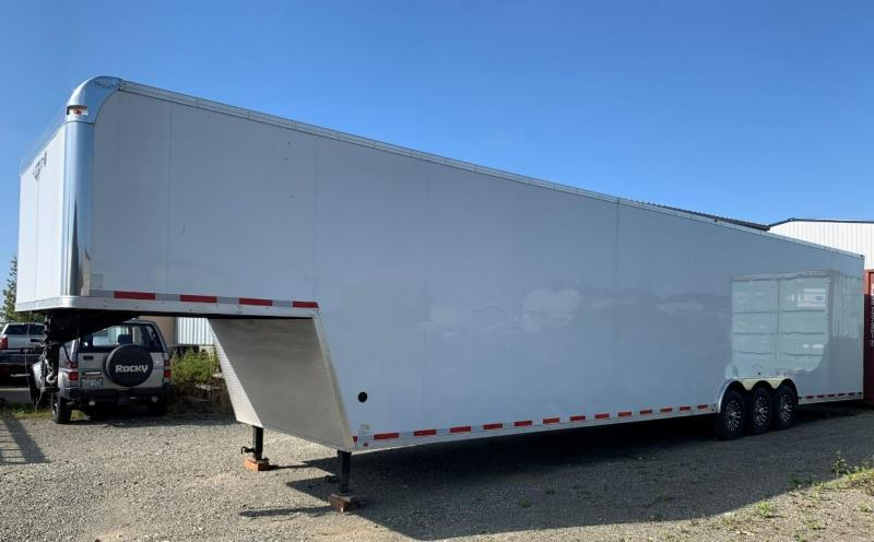 2020 Millennium OL846G Gooseneck Enclosed Trailer
