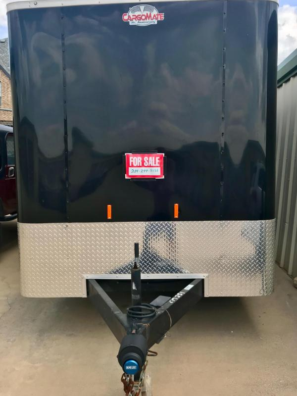 2016 Cargo Mate 7 x 16 Enclosed Cargo Trailer