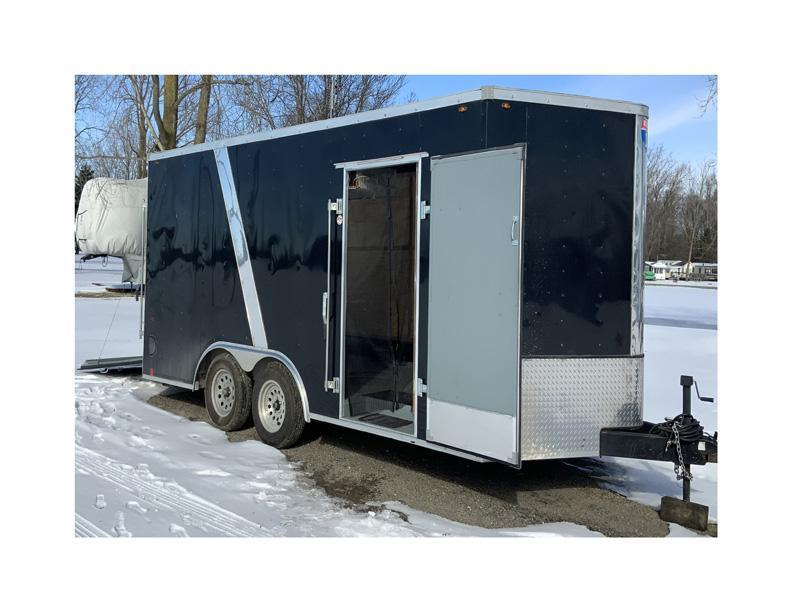 2018 1st Interstate 8.5 x 16 Enclosed Utility Trailer