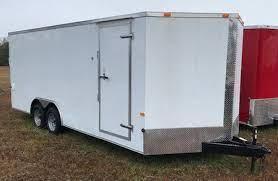 2013 South Georgia 8.5 x 22 Enclosed Cargo Trailer