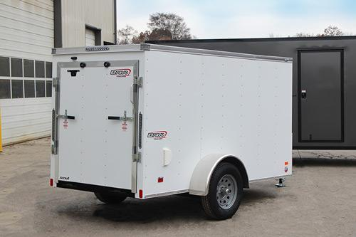 2020 Bravo Scout SC612SA Enclosed Trailer
