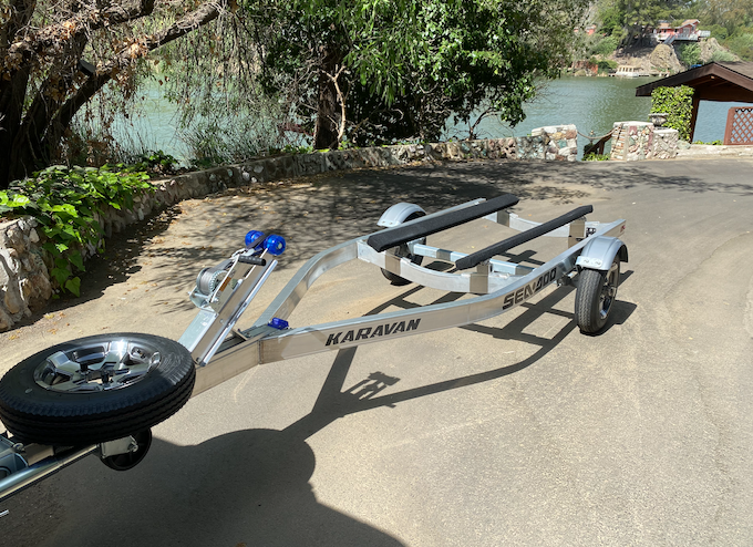 2021 Karavan Aluminum Single Jet Ski Trailer