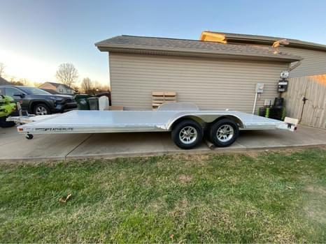 2021 Featherlite 8.5 x 20 Aluminum Car Trailer