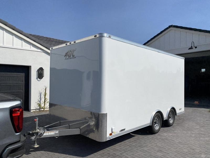 2019 ATC Quest 8' x 16' Toy Hauler / Enclosed Cargo Trailer
