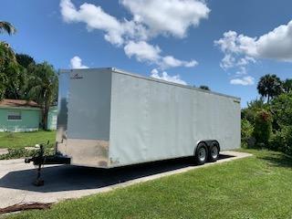 2021 Peach Cargo 8.5 x 24 Enclosed Heavy Duty Trailer