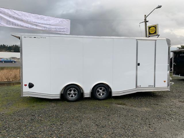 2021 Alcom-Stealth 8.5' x 20' Enclosed Car Trailer