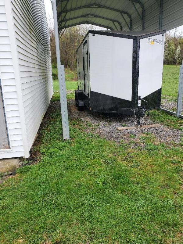 2020 Stealth 7' x 14' Tandem Axle Enclosed Trailer