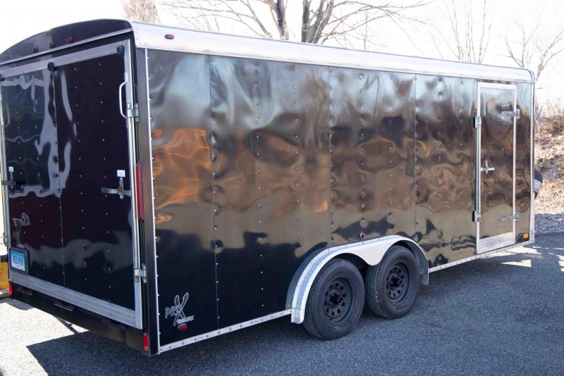 2008 ProX 8 x 18 Enclosed Utility Trailer