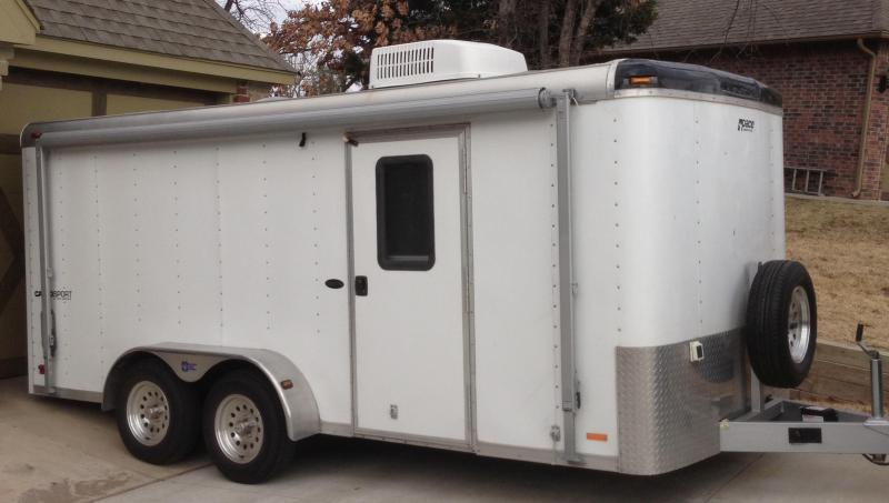 2004 Pace American 8 x 14 Enclosed Utility Trailer