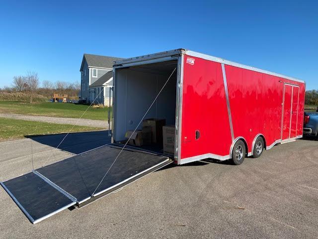 2017 American Hauler 8.5 x 26 Enclosed Car Hauler