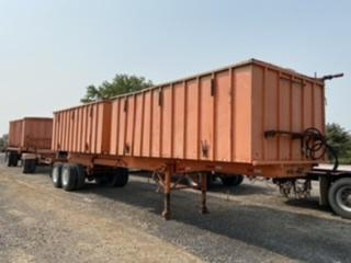 2008 Custom Made Side Dump Trailers